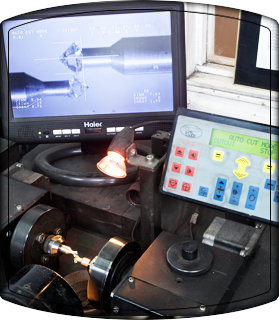 diamond cutting machine